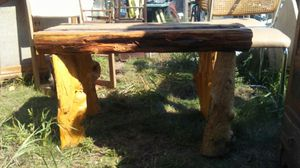 Real tree trunk table for Sale in Backus, MN