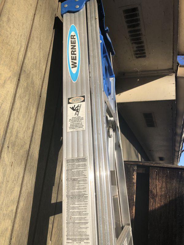 Werner Aluminum ladder