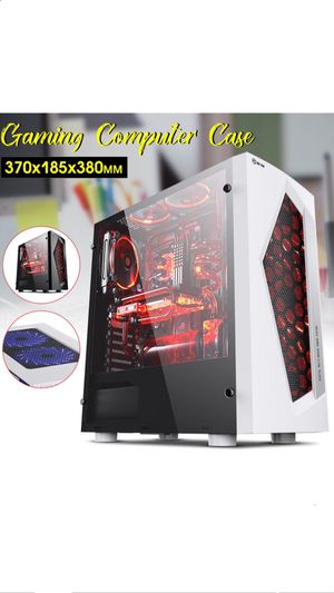 Gaming case for Pc! White for Sale in Brooklyn, NY