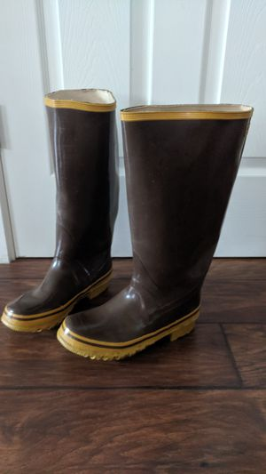 Steel Shank knee high rubber rain boots industrial by Weather Rite, Sz 6. for Sale in Vancouver, WA