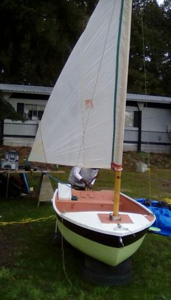 12ft. Sailboat $ 100 for Sale in Ronald,  WA