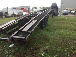 2015 Kaufman trailer 3-4 car hauler for Sale in Houston, TX