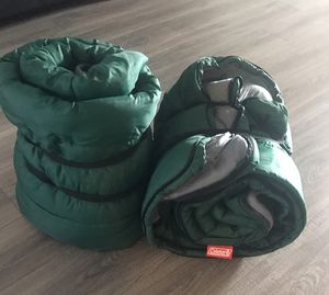 2 Coleman sleeping bags for Sale in Hutto, TX