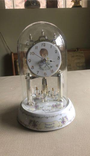 2002 Precious Moments®️ Glass Dome Clock [WORKS] for Sale in Chicago, IL