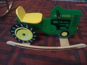 John Deere Children's Tractor Rocker for Sale in Glendale, AZ
