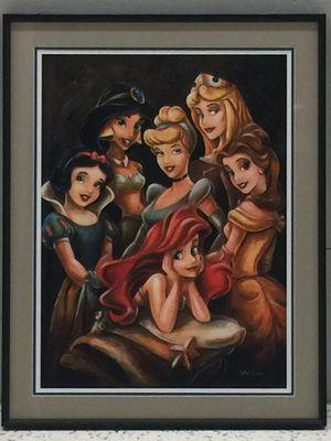 "Disney Print ""Princess Gathering"" by Wilson for Sale in Nashville, TN"
