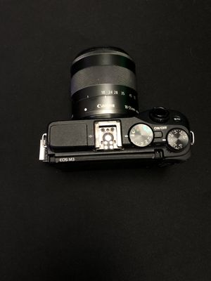 Canon eos m3 with 18-55mm lens and battery. USED for Sale in Marco Island, FL
