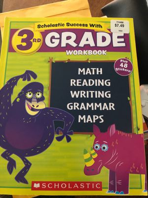 3rd grade workbook for Sale in March Air Reserve Base, CA