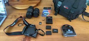 Canon Rebel T3 DSLR Camera Bundle for Sale in Amissville, VA