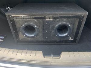 """12"""" pioneer subwoofers for Sale in Madera, CA"""