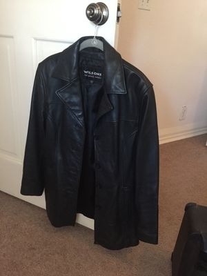 Wilson's Woman's medium black leather jacket for Sale in Tampa, FL