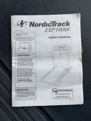 NordicTrack treadmill exp1000i for Sale in Indianapolis, IN