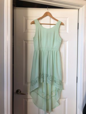Mint High-Low Dress for Sale in Chicago, IL