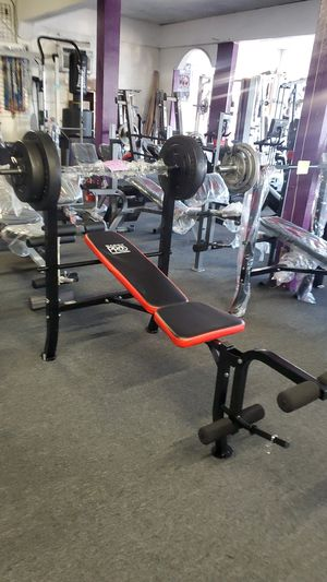 Bench and weights for Sale in Bell, CA