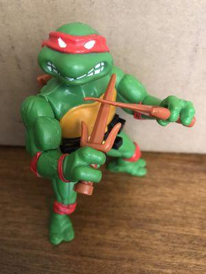 Vintage TMNT Teenage Mutant Ninja Turtle 1988 Raphael Action Figure near COMPLETE for Sale in Norwalk, CA