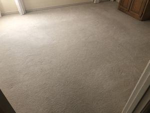 White light-colored plush carpet for Sale in Dallas, TX