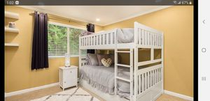 Full over full bunk with mattresses for Sale in Redmond, WA