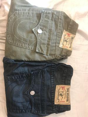 True religion men's straight size 31 for Sale in Fresno, CA