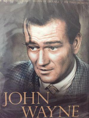 10 John Wayne DVDS collection for Sale in Bridge City, TX