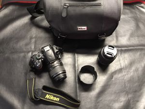 Nikon D3200 digital camera bundle!! for Sale in Port St. Lucie, FL