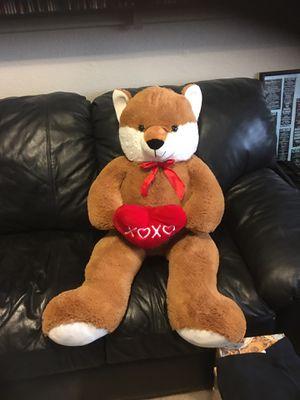 Large fox bear stuffed animal for Sale in Chandler, AZ