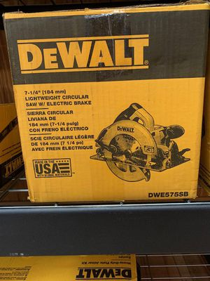 "DeWalt 7-1/4"" Circular Saw for Sale in Kennesaw, GA"
