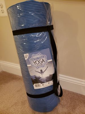 Yoga Cloud extra thick exercise mat for Sale in Rockville, MD