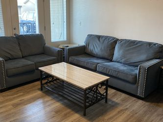Sofa loveseat and end tables and coffee table for Sale in Orem,  UT