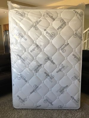 Full Brand New Organic Pillow Top Mattress! Free Local Delivery! for Sale in Corona, CA
