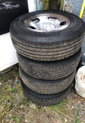 4 Jeep Liberty wheels and tires for Sale in Peabody, MA