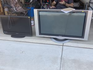 Two TVs need gone today! Emerson 32 inch, Panasonic 42 inch. for Sale in Gilbert, AZ