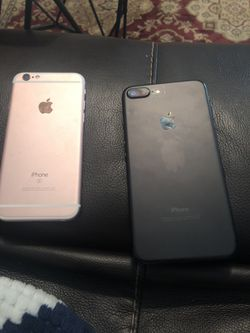 iPhone 7plus and iPhone 6s PARTS ONLY PHONES for Sale in Wichita,  KS