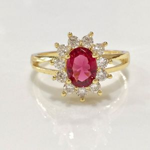 18k gold plated floral wedding engagement casual proposal ring for Sale in Silver Spring, MD