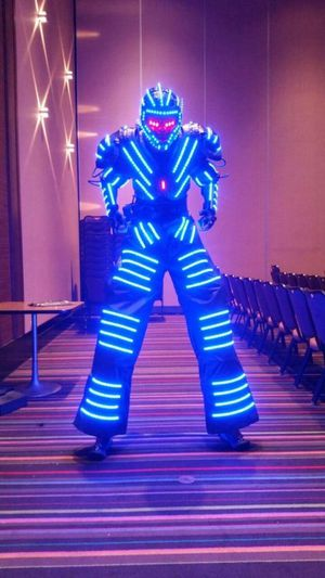LED ROBOT DJ EQUIPMENT for Sale in Bellwood, IL