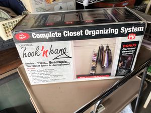 Complete closet organizing system brand new. for Sale in Bellwood, IL