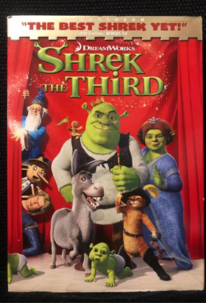 Shrek the Third DVD for Sale in Bakersfield, CA