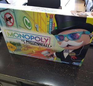 ☆ Monopoly for Milennials ☆ for Sale in Las Vegas, NV