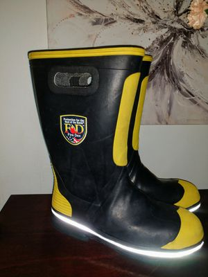Fire-Dex firefighter boots size 12 M for Sale in Salt Lake City, UT