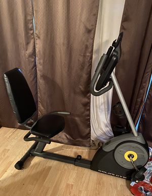 Recumbent bike and withings smart scale for Sale in Rowlett, TX