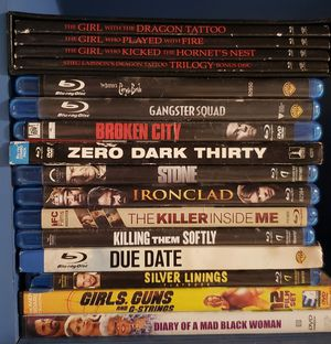 Blu ray dvds for Sale in Miami Gardens, FL