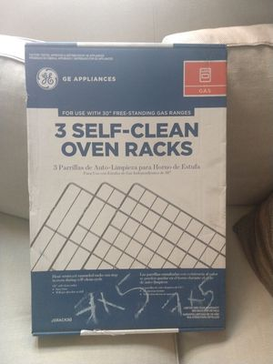 New NIB GE Self Clean Oven Racks - 3 pack for Sale in Chicago, IL