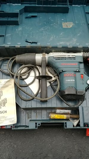 Bosch Rotary Hammer 11241EVS drill for Sale in Newtonville, NY
