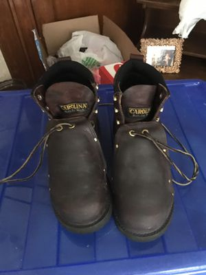 Carolina work boots 🥾 I bye for $298 sale for 100 for Sale in Milwaukee, WI