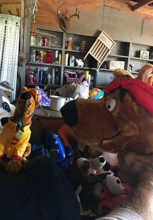 Scooby Doo stuffed animals for Sale in Manvel, TX