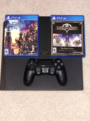 PS4 PRO 1TB comes with Kingdom Hearts 3 and Kingdom Hearts The Story So Far for Sale in Olathe, KS