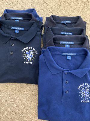 ST. Francis Xavier school Phoenix uniform shirts + for Sale in Phoenix, AZ