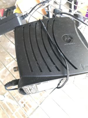 Motorola Cable modem for Sale in Coral Springs, FL