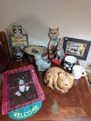 CAT COLLECTIBLES for Sale in Humble, TX