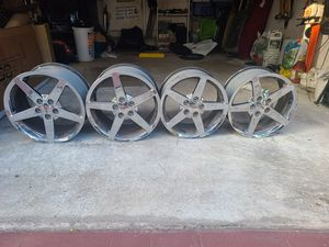 C6 Corvette Chrome Wheels for Sale in Fort Lauderdale, FL