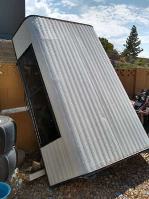 Used Camper Shell for a Full Bed Truck for Sale in Phoenix, AZ
